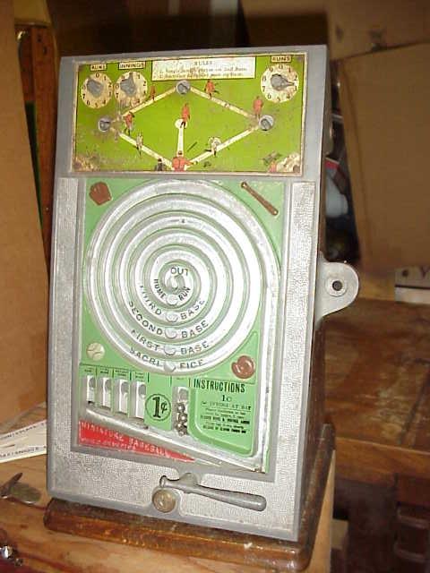 Miniature Baseball World Champions Trade Stimulator