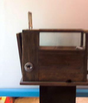 Target Machine Wood Case