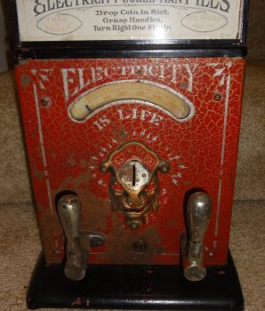 Mills Electricity Is Life Firefly Shock Arcade Machine