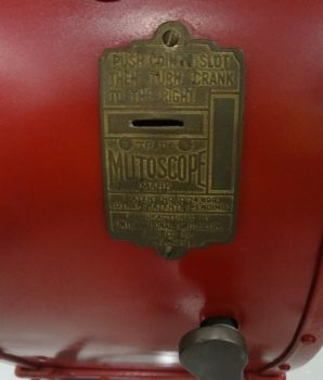 Mutoscope Coney Island Type Reel Penny Arcade Movie Amusement Park