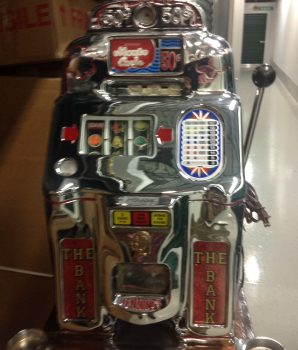 50 Cent Jennings Monte Carlo Slot Machine 1000 Coin Break the Bank