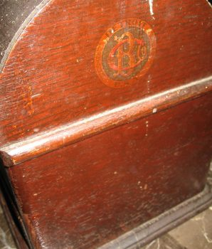"1 Cent Caille ""Good Luck"" Poker 5-Reel Cigar Trade Stimulator"