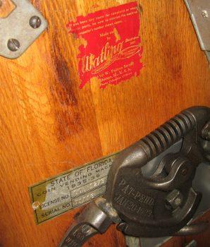 Watling Original Rol-A-Top 5c Slot Machine with Venders & Gold Awards