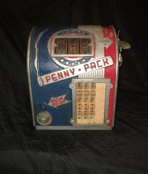 Daval Penny Pack Trade Stimulator  & Gumball Dispenser