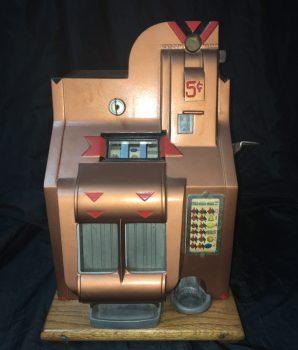Mills Antique QT Slot Machine pending sale