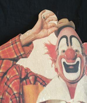 Ringling Bros & Barnum BaileyCircus Clown Lou Jacobs Stand Up Display