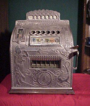 Mills Check Boy Gambling Machine