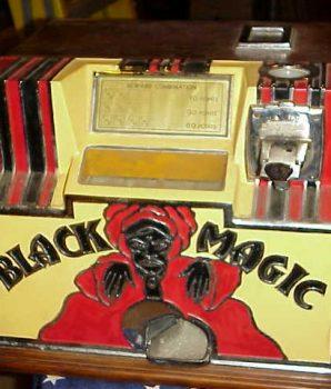 Black Magic Dice Machine