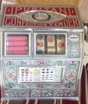 1928 Puritan Confection Vendor Trade Stimulator