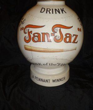 Fan Taz Baseball Syrup Soda Dispenser