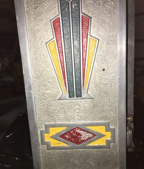 1 cent Little Duke Slot Machine with Gum Vendor
